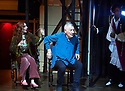Hamlet by William Shakespeare, directed by Sean Mathias. Set designed by Lee Newby, Costume Designed by Loren Elstein, Lighting designed by Zoe Spurr.  With Alis Wyn Davies as Ophelia, ian McKellen as Hamlet. Opens at The Theatre Royal Windsor on 21/7/21 pic Geraint Lewis