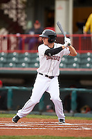 Erie Seawolves outfielder Jason Krizan (7) at bat during a game against the Richmond Flying Squirrels on May 19, 2015 at Jerry Uht Park in Erie, Pennsylvania.  Richmond defeated Erie 8-5.  (Mike Janes/Four Seam Images)