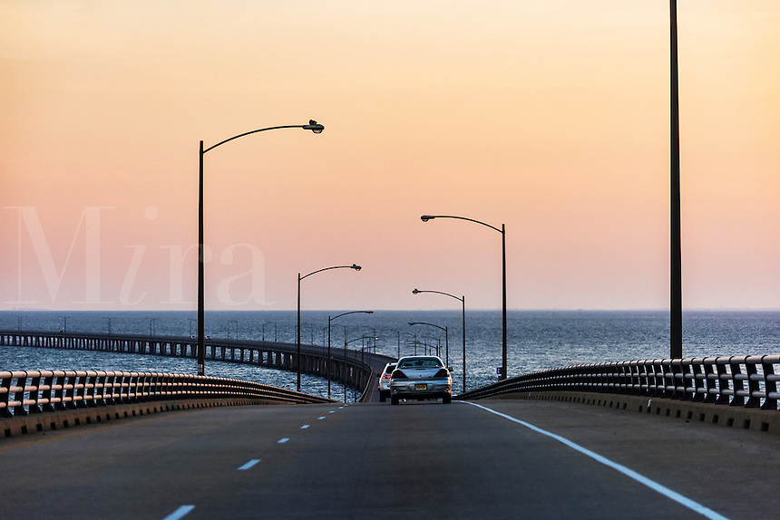 The Chesapeake Bay Bridge, Virginia, USA, USA