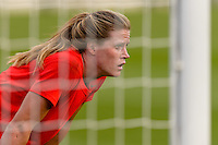 Chicago, IL - Sunday Sept. 04, 2016: Alyssa Naeher prior to a regular season National Women's Soccer League (NWSL) match between the Chicago Red Stars and Seattle Reign FC at Toyota Park.