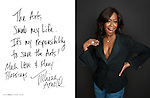 Tichina Arnold photographed for ART & SOUL