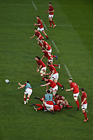 Wales warm up <br /> Roma 9-02-2019 Stadio Olimpico<br /> Rugby Six Nations tournament 2019  <br /> Italy - Wales <br /> Foto Andrea Staccioli / Resini / Insidefoto