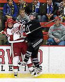 Marshall Everson (Harvard - 21), Matt Maher (Bentley - 2) - The Harvard University Crimson defeated the visiting Bentley University Falcons 5-0 on Saturday, October 27, 2012, at Bright Hockey Center in Boston, Massachusetts.