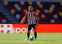 17th April 2021; Brentford Community Stadium, London, England; English Football League Championship Football, Brentford FC versus Millwall; Emiliano Marcondes of Brentford
