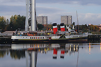 The Waverley docked at Pacific Quay, Glasgow<br /> <br /> Copyright www.scottishhorizons.co.uk/Keith Fergus 2011 All Rights Reserved