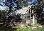 Alpine County log cabins