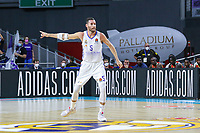 13th October 2021; Wizink Center; Madrid, Spain; Turkish Airlines Euroleague Basketball; game 3; Real Madrid versus AS Monaco; Rudy Fernandez (Real Madrid Baloncesto) gives pass instructions during the match