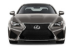 Car photography straight front view of a 2018 Lexus RC F 3 Door Coupe