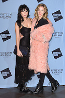 Daisy Lowe and Portia Freeman<br /> at the launch of the Skate at Somerset House ice rink, London.<br /> <br /> ©Ash Knotek  D3199  16/11/2016
