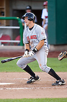 July 10, 2009: Tyler Stovall of the Billings Mustangs, Rookie Class-A affiliate of the Cincinnati Reds, during a game at the Orem Owlz Ballpark in Orem, UT. Photo by: Matthew Sauk/Four Seam Images