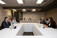 Conference de presse de Francois Legault durant la crise du COVID-19,<br /> le 9 juillet 2020<br /> <br /> PHOTO : Emilie Nadeau, Cabinet du Premier Ministre