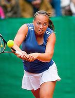 7-6-09, Amersfoort, Tennis, playoffs competitie, Nicole Thyssen