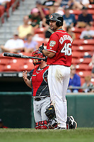 July 20th 2008:  Tony Graffanino of the Buffalo Bisons, Class-AAA affiliate of the Cleveland Indians, during a game at Dunn Tire Park in Buffalo, NY.  Photo by:  Mike Janes/Four Seam Images