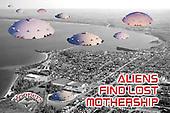 An alien search party finally found it's mothership stranded in the UP. When it crashed in 1991, it was unable to make repairs so it disguised itself as a sports complex until help arrived.