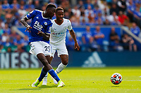11th September 2021; King Power Stadium, Leicester, Leicestershire, England;  Premier League Football, Leicester City versus Manchester City; Wilfred Ndidi of Leicester City