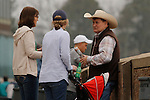 Fans before the running of the Rebel Stakes (Grade II) at Oaklawn Park in Hot Springs, Arkansas-USA on March 15, 2014. (Credit Image: © Justin Manning/Eclipse/ZUMAPRESS.com)