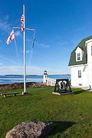 Marshall Point Lighthouse in Port Clyde, Maine.