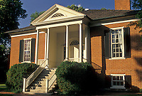 Farmington, mansion, Louisville, KY, Kentucky, Farmington a federal-style mansion designed by Thomas Jefferson in Louisville in the spring.