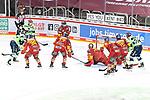 Eishockey DEL 37. Spieltag: Düsseldorfer EG vs <br /> ERC Ingolstadt am 07.04.2021 im ISS Dome in Düsseldorf<br /> <br /> Tor zum 1:3 durch Ingolstadts Frederik Storm (Nr.9)<br /> <br /> Foto © PIX-Sportfotos *** Foto ist honorarpflichtig! *** Auf Anfrage in hoeherer Qualitaet/Aufloesung. Belegexemplar erbeten. Veroeffentlichung ausschliesslich fuer journalistisch-publizistische Zwecke. For editorial use only.