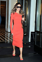 NEW YORK, NY- October 13: Victoria Beckham seen leaving her hotel for an appearance on Live With Kelly & Ryan in New York City on October 13, 2021. Credit: RW/MediaPunch