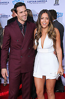 """HOLLYWOOD, LOS ANGELES, CA, USA - MARCH 13: Brett Dalton, Chloe Bennet at the World Premiere Of Marvel's """"Captain America: The Winter Soldier"""" held at the El Capitan Theatre on March 13, 2014 in Hollywood, Los Angeles, California, United States. (Photo by Xavier Collin/Celebrity Monitor)"""