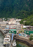 Downtown Juneau, Alaska, USA