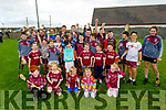 Causeway juveniles out in full force supporting the Causeway senior hurlers on Sunday at the sports field