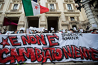 11.01.2021 - State School Students Demo Outside Ministry Of Education in Rome