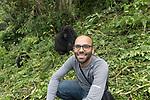 Ruben Rassi With Mountain Gorillas