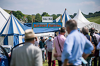 BNPS.co.uk (01202) 558833. <br /> Pic: MaxWillcock/BNPS<br /> <br /> The Chalke Valley History Festival, the largest festival dedicated entirely to history in the UK, is taking place in Broadchalke near Salisbury, Wiltshire, from Wednesday 23 June - Sunday June 2021.<br /> <br /> This year, for the festival's tenth anniversary, the organisers are introducing a new Outdoor Programme that includes two outdoor stages, a revised Living History through-the-ages, and vintage fairground.