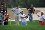 Gareth Maybin on the 13th on day 3 of the Abu Dhabi HSBC Golf Championship 2011, at the Abu Dhabi golf club, UAE. 22/1/11..Picture Fran Caffrey/www.golffile.ie.