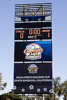 2010 NCAA D1 College Cup Championship Final Akron defeated Louisville 1-0 at Harder Stadium on the campus of UCSB in Santa Barbara, California on Sunday December 12, 2010.