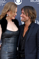 LAS VEGAS - APR 3:  Nicole Kidman, Keith Urban arriving at the Academy of Country Music Awards 2011 at MGM Grand Garden Arena on April 3, 2010 in Las Vegas, NV.