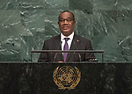 72 General Debate – 20 September <br /> <br /> His Excellency Selom Komi Klassou, Prime Minister of the Togo