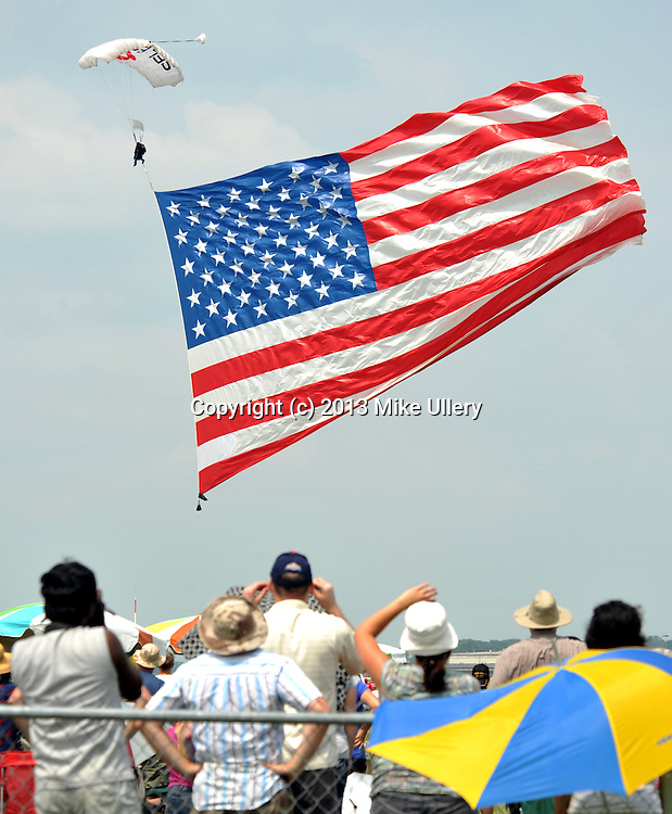 Vectren Dayton Air Show on Saturday, June 22, 2013. The day was marred by the death of two of the show's performers. The remainder of Saturday's show was cancelled but the show will go on Sunday. Tickets for Saturday's Dayton Air Show will be  honored Sunday. While Saturday's crash was a tragedy, air show performers will undoubtedly fly in on Sunday in honor of those who lost their lives ... doing what they loved to do. I believe that we owe it to them to go out on Sunday and honor them by enjoying some wonderful, dedicated and professional air show acts.