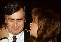 Montreal (Qc) CANADA - Jan 27, 1996  File Photo - Audrey Best seen with husband Lucien Bouchard in this file photo.<br /> <br /> She died of breast cancer January 25, 2011