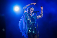 Coeur de Pirate performs at the Festival d'ete de Quebec in Quebec city Sunday July 10, 2016.