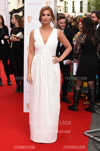 Fern McCann<br /> arrives for the 2015 BAFTA TV Awards at the Theatre Royal, Drury Lane, London. 10/05/2015 Picture by: Steve Vas / Featureflash