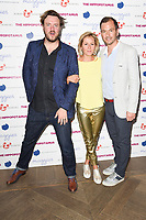 "director, John Jencks, Martha Lane Fox and husband, Christopher Gorell Barnes<br /> at the premiere of ""The Hippopotamus"" at the Mayfair Hotel, London. <br /> <br /> <br /> ©Ash Knotek  D3269  31/05/2017"