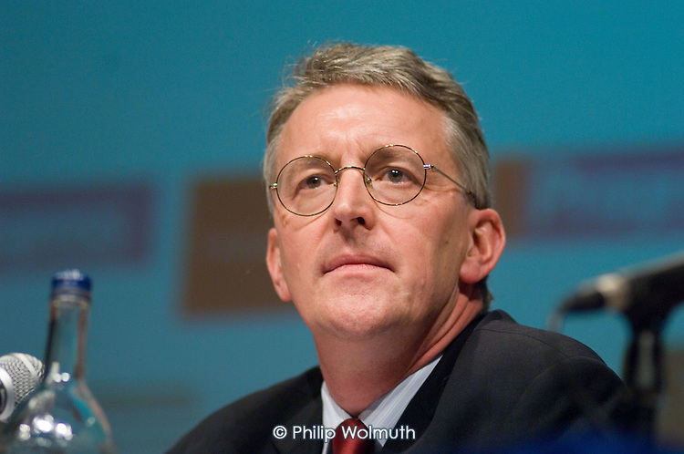 Hilary Benn MP, Secretary of State for International Development,  speaks at a Fabian Society hustings meeting for candidates for the deputy leadership of the Labour Party.