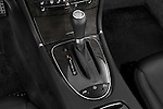 Gear shift detail view of a 2008 Mercedes E63 Sedan