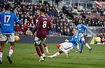 26.01.2020 Hearts v Rangers: Ryan Kent scores for Rangers