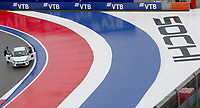 25th September 2021; Sochi, Russia; F1 Grand Prix of Russia  qualifying sessions;  A view of the Sochi Autodrom racing circuit