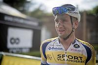 happy, dirty post-race face<br /> <br /> Dwars door het Hageland 2019 (1.1)<br /> 1 day race from Aarschot to Diest (BEL/204km)<br /> <br /> ©kramon