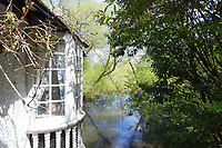 BNPS.co.uk (01202 558833)<br /> Pic:  Riverhomes/BNPS<br /> <br /> Pictured: A view of the River Thames beside the property.<br /> <br /> A striking Victorian boathouse that has been used as a film set is on the market for £2m.<br /> <br /> The time capsule building by the River Thames was used in a film version of The Wind in the Willows and the 1996 film True Blue, about the Oxford Cambridge boat race.<br /> <br /> It has an enclosed mooring as well as two moorings on the bank, perfect for those who want to spend their days messing about in boats like Ratty and Mole.