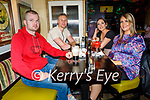 Enjoying the evening the in the Brogue Inn on Saturday, l to r: Joey O'Shea, Darragh and Danielle Healy and Toni O'Shea.