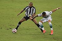 Rio de Janeiro (RJ), 05/06/2021 - BOTAFOGO-CORITIBA - Chay (e), do Botafogo. Partida entre Botafogo e Coritiba, válida pela Série B do Campeonato Brasileiro, realizada no Estádio Nilton Santos, neste sábado (05).