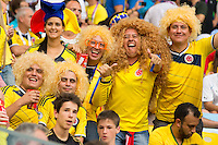 Columbia fans in fancy dress and big hair