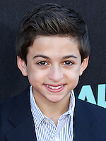 HOLLYWOOD, LOS ANGELES, CA, USA - OCTOBER 06: J.J. Totah arrives at the World Premiere Of Disney's 'Alexander And The Terrible, Horrible, No Good, Very Bad Day' held at the El Capitan Theatre on October 6, 2014 in Hollywood, Los Angeles, California, United States. (Photo by Xavier Collin/Celebrity Monitor)
