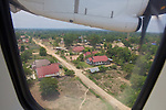 Flying Into Laos